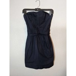 Navy Abercrombie and Fitch Mini Dress